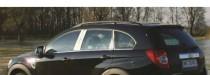 хром молдинги на стойки Chevrolet Captiva