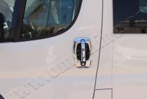 хромированные накладки на дверные ручки Citroen Jumper 2