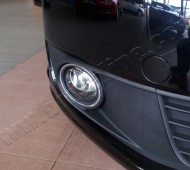 хром накладки на противотуманные фары Fiat Doblo 1