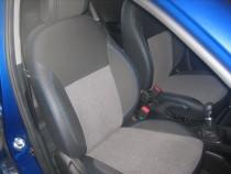 Чехлы в салон Киа Рио 3 седан (авточехлы на сиденья Kia Rio 3 se