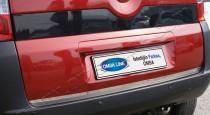 Хромированная кромка багажника Фиат Фиорино 3 (хром нижняя кромка крышки багажника Fiat Fiorino 3)