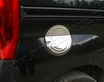 Хром накладка на лючок бензобака Фиат Фиорино 3 (хромированный лючок на бензобак Fiat Fiorino 3)