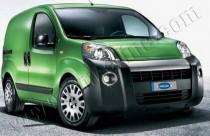 Хромированная окантовка противотуманных фар Fiat Fiorino 3 (хром накладки на противотуманные фары Фиат Фиорино 3)
