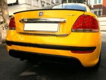 Хромированная кромка багажника Фиат Линеа (хром кант крышки багажника Fiat Linea)
