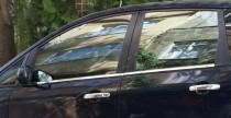 Хромированные молдинги стекол Форд С-Макс 1 (хром нижние молдинги стекол Ford C-Max 1)