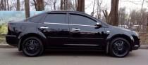 Купить хромированные молдинги стекол на Ford Focus 2 (хром окант