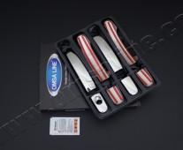 Оригинальные хром накладки на боковые ручки Форд Куга 2 (хром ок
