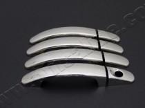 Omsa Line Хром накладки на ручки Форд Мондео 4 (хромированные накладки на дверные ручки Ford Mondeo 4)