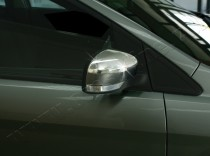 Установка хром крышек зеркал Форд Мондео Мк4 (хром накладки на б