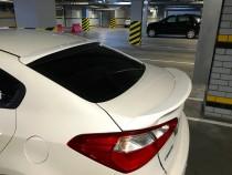 Спойлер на багажник Киа Церато 3 (задний спойлер Kia Cerato 3)