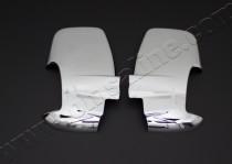Хром накладки на зеркала Форд Транзит 7 (хромированные накладки на боковые зеркала Ford Transit 7)