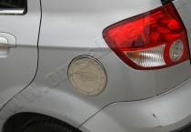 Хром накладка на лючок бензобака Хюндай Гетц (хромированный лючок на бензобак Hyundai Getz)
