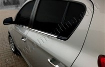 хром нижние молдинги стекол Hyundai i20 1