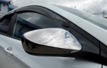 Хром накладки на зеркала Хендай i30 2 (хромированные накладки на боковые зеркала Hyundai i30 2)