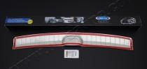Купить хром накладку на задний бампер Kia Ceed 2 5d (защитная хр