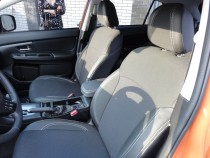 Чехлы в салон Субару XV (авточехлы на сиденья Subaru XV)
