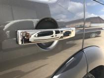 хромированные накладки на дверные ручки Land Rover Discovery 3
