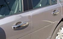 хромированные накладки на дверные ручки Land Rover Discovery 4