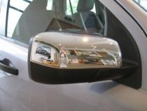 Хром накладки на зеркала Ленд Ровер Фрилендер 2 (хромированные накладки на боковые зеркала Land Rover Freelander 2)