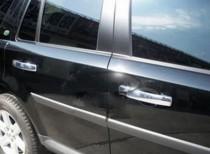 хром нижние молдинги стекол Land Rover Freelander 2