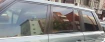 Хромированные молдинги стекол Рендж Ровер 3 (хром нижние молдинги стекол Range Rover 3)