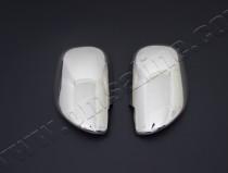 Хромированные накладки на боковые зеркала Лексус gX470 (хром пак