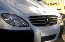 хром накладки на радиатор Mercedes Vito W639
