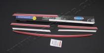 Купить хром окантовку на решетку радиатора Mercedes Vito 639 (хр