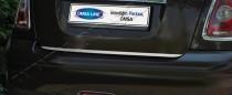 Хромированная кромка багажника Мини Купер R56 (хром нижняя кромка крышки багажника Mini Cooper R56)