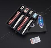 Хром накладки на ручки дверей Mitsubishi Lancer 9 (хром накладки