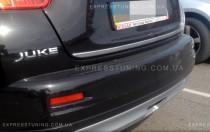 хром нижняя кромка крышки багажника Nissan Juke