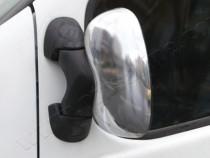 Хром накладки на зеркала Ниссан Примастар (хромированные накладки на боковые зеркала Nissan Primastar)