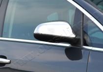 Хром накладки на зеркала Опель Астра J (хромированные накладки на боковые зеркала Opel Astra J)