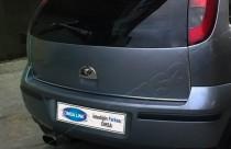 Хром ручка двери багажника Опель Мерива А (хромированная дверная ручка на багажник Opel Meriva A)