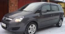 хром нижние молдинги стекол Opel Zafira B