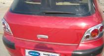 Хром ручка двери багажника Пежо 307 (хромированная дверная ручка на багажник Peugeot 307)