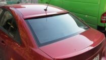 Бленда козырек на заднее стекло Chevrolet Cruze sd (установка сп