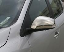 Хром накладки на зеркала Рено Флюенс (хромированные накладки на боковые зеркала Renault Fluence)
