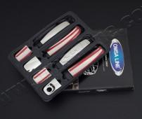Купить хромированные накладки на дверные ручки Рено Трафик 2 (ус