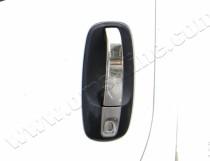 Хром пакет на дверные ручки Renault Trafic 2 (купить хром наклад