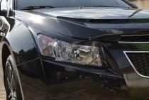 Реснички на Шевроле Круз (накладки на фары Chevrolet Cruze)