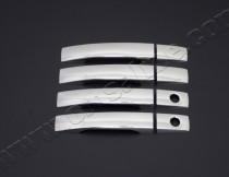 Хром накладки на ручки Санг Енг Кайрон (хромированные накладки на дверные ручки SsangYong Kyron)