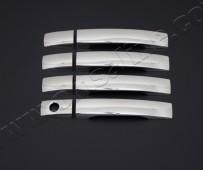 Хром накладки на ручки Санг Енг Рекстон 2 (хромированные накладки на дверные ручки SsangYong Rexton 2)