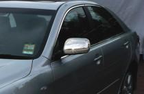 хромированные накладки на боковые зеркала Toyota Camry 40