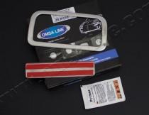 Установка хромированной накладки на ручки багажника Volkwagen Am