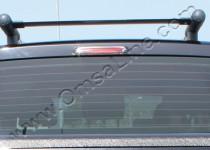 Хромированная окантовка стоп сигнала Фольксваген Амарок (хром накладка на задний стоп сигнал Volkswagen Amarok)