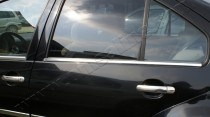 Хромированные молдинги стекол Фольксваген Бора (хром нижние молдинги стекол Volkswagen Bora)