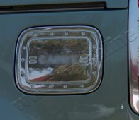 Хром накладка на лючок бензобака Фольксваген Кадди (купить хром