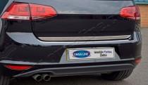 хром нижняя кромка крышки багажника Volkswagen Golf 7