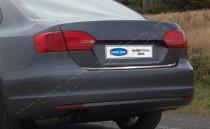 хром нижняя кромка крышки багажника Volkswagen Jetta 6